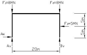 Maschinenbau statik statik aufgabe 3 for Maschinenbau statik